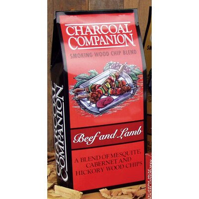 Charcoal Companion Beef and Lamb Smoking Wood Chip Blend