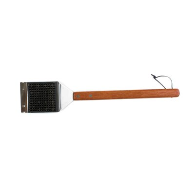 Charcoal Companion Big Head® Rosewood Handle Barbecue Brush