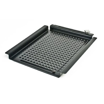 Charcoal Companion Non Stick SpaceSaver™ Adjustable barbecuing Grid