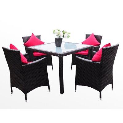 IHP24 5-tlg. Tisch-Set mit Kissen