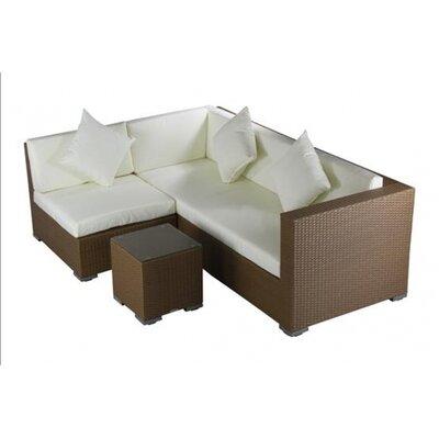IHP24 3-tlg. Sofa-Set mit Kissen
