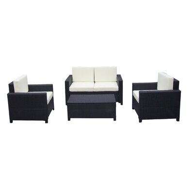 IHP24 4-tlg. Sofa-Set mit Kissen