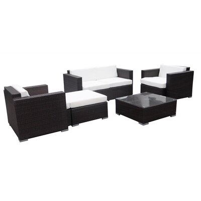 IHP24 5-tlg. Sofa-Set mit Kissen
