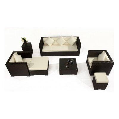 IHP24 7-tlg. Sofa-Set mit Kissen
