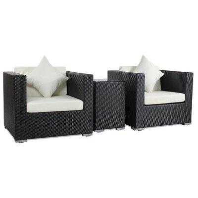 IHP24 3-tlg. Sessel-Set Seaside mit Kissen