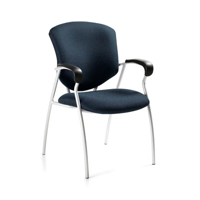 Supra Armchair with Round Tube Frame