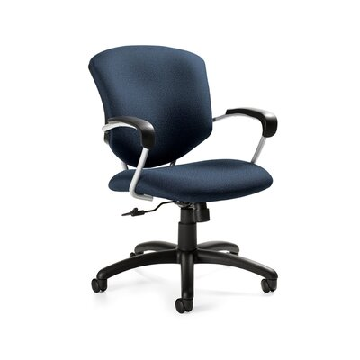 Supra Desk Chair Upholstery: Graphite, Arms: Included