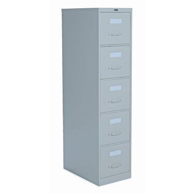 2500 Series 5-Drawer File Finish: Light Grey