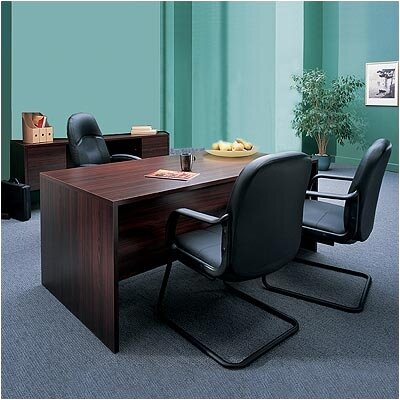 Genoa 2-Piece Desk Office Suite
