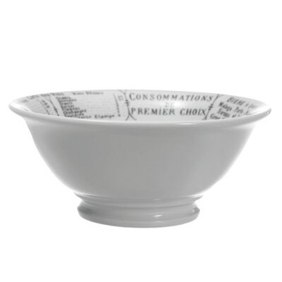 Pillivuyt Brasserie Footed Salad Bowl