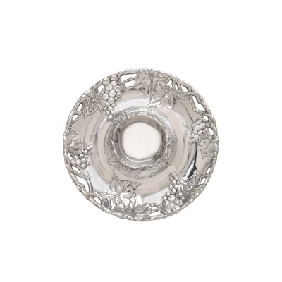 Arthur Court Designs Grape Round Chip and Dip Tray