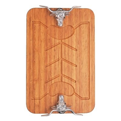 Western Bamboo Carving Board