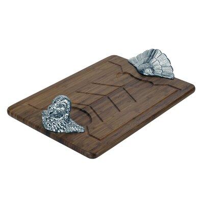 Game Birds Turkey Wood Carving Board