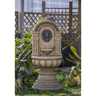 Resin/Fiberglass Classic Lion Head Fountain