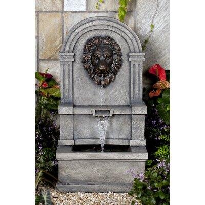 Resin/Fiberglass Lion Fountain