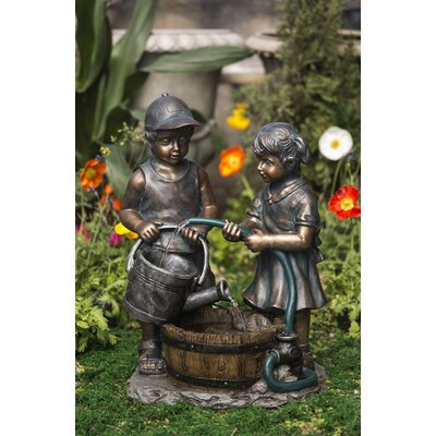 Resin/Fiberglass Kids Water Fountain