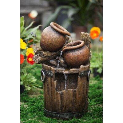 Resin/Fiberglass Pot and Urn Water Fountain