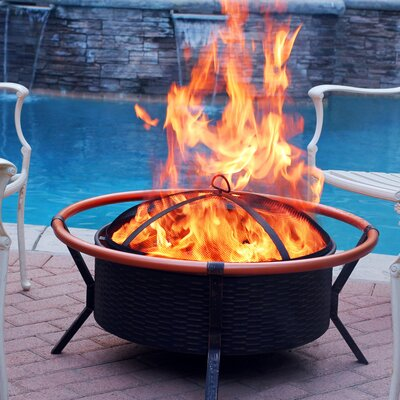 Steel Charcoal Fire Pit
