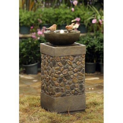 Resin/Fiberglass Bird Fountain