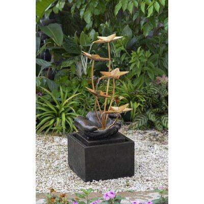 Resin/Fiberglass Flower Fountain