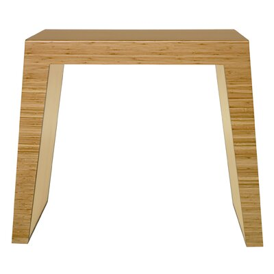 Hollow Console Table Color: Natural