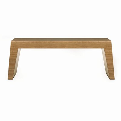 Hollow Two Seat Bench Color: Chocolate