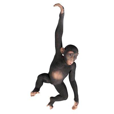 Design Toscano Statue Hanging Jungle Monkey