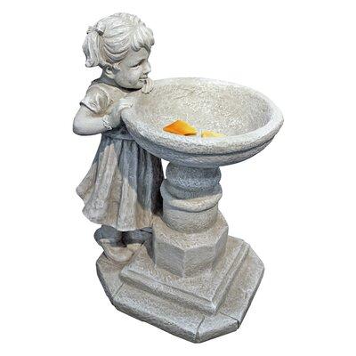 Design Toscano Girl at Fountain Statue