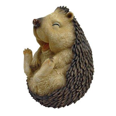 Design Toscano Statue Single Happy Hedgehog