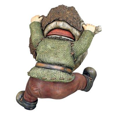Design Toscano Statue Gnome Face Planted Sitter