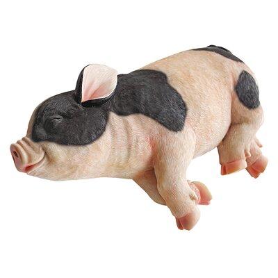 Design Toscano Statue Sleeping Pig
