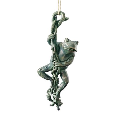 Design Toscano Statue The Daring Dangling Frog