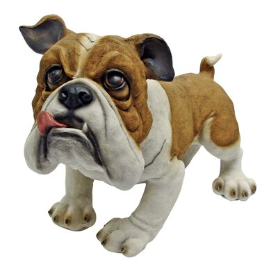 Design Toscano Winston the British Bulldog Figurine