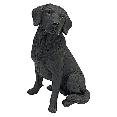 Design Toscano Statue Lab Retriever Dog