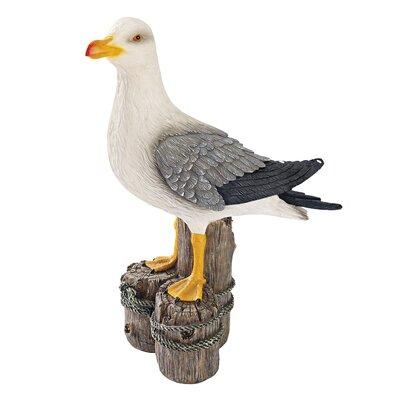 Design Toscano Dockside Seagull Figurine