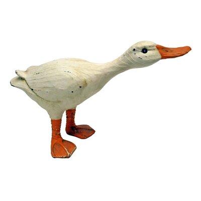 Design Toscano Statue Rustic Duck Crouching