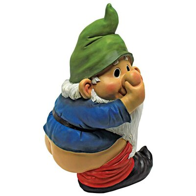 Design Toscano Statue Stinky the Gnome