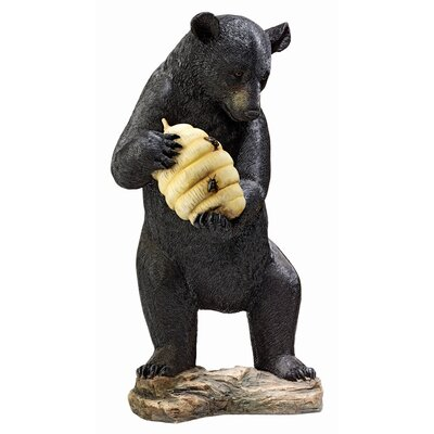 Design Toscano Beehive Bear Spitter Piped Statue