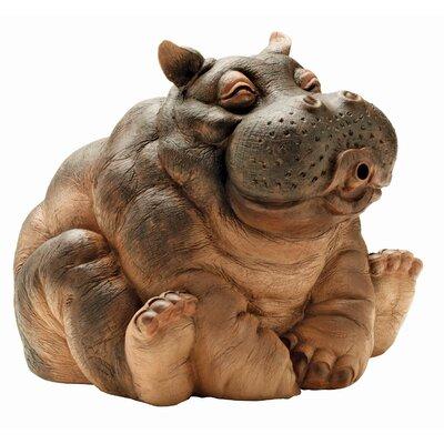 Design Toscano Garden Division Hanna Hippo Spitter Statue