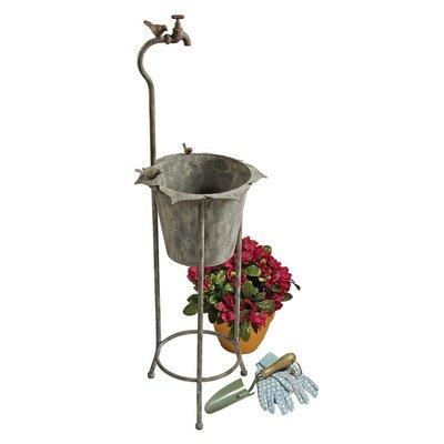 Design Toscano Novelty Vintage Faucet Planter