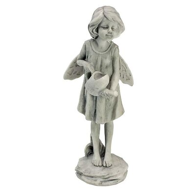 Design Toscano Rose Garden Fairy with Watering Can Statue