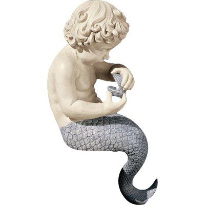 Design Toscano Statue Ocean Little Treasure Sitting