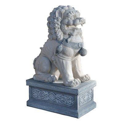 Design Toscano Statue Giant Forbidden City Foo Dog