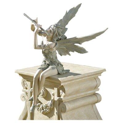 Design Toscano Statue Fairy of West Wind Sitting