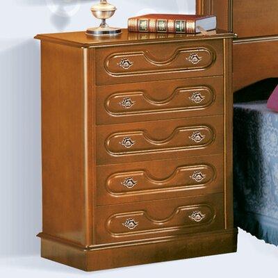 Grupo Dos 5 Drawer Bedside Table