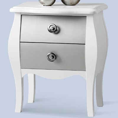 Grupo Dos 2 Drawer Bedside Table