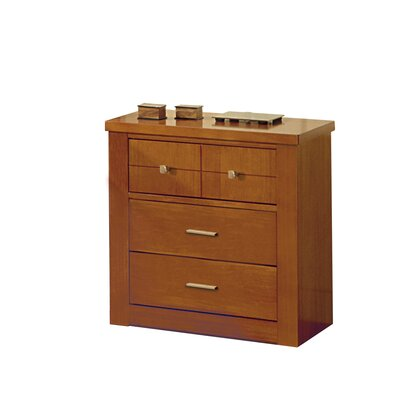 Grupo Dos 3 Drawer Bedside Table