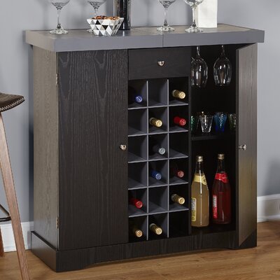 Melina 18 Bottle Floor Wine Cabinet