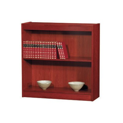 "Contemporary Series Standard Bookcase Size: 36"" H x 36"" W x 12"" D, Finish: Natural Oak"