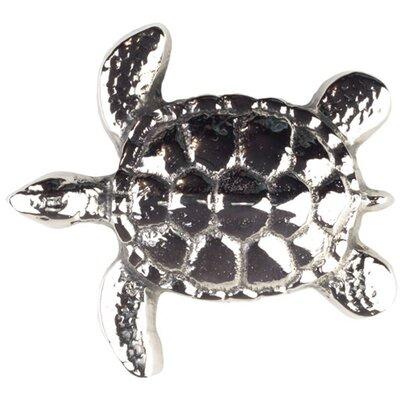 Small Turtle Grid Bathroom Sink Drain Finish: Polished Nickel, Overflow: No